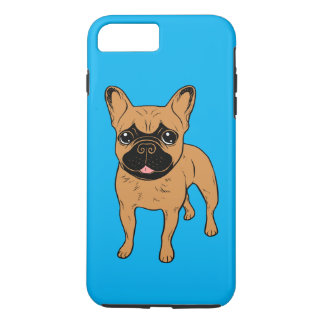 Gouden Fawn Frenchie iPhone 8/7 Plus Hoesje