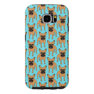 Gouden Fawn Frenchie Samsung Galaxy S6 Hoesje