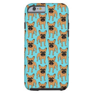 Gouden Fawn Frenchie Tough iPhone 6 Hoesje