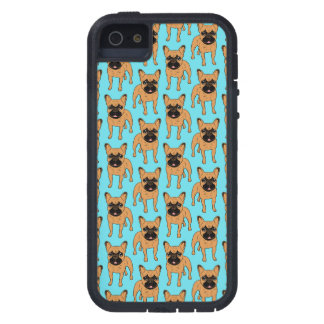 Gouden Fawn Frenchie Tough Xtreme iPhone 5 Hoesje