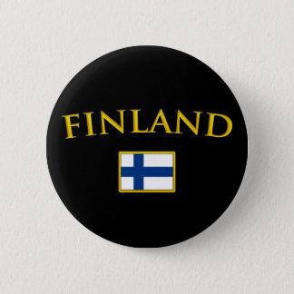 Gouden Finland Ronde Button 5,7 Cm