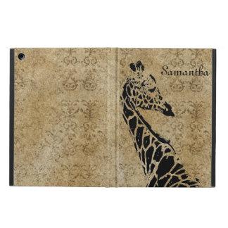 Gouden Geweven Giraf iPad Air Hoesje