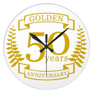 GOUDEN Gouden 50 Jaar van Jubileum 50 van het Grote Klok