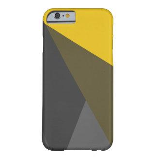 Gouden Grijze iPhone 6 van Driehoeken Hoesje, Barely There iPhone 6 Hoesje