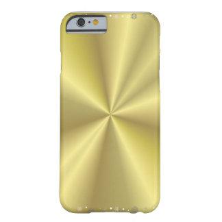 Gouden I telefoon 6 van Kerstmis Barely There iPhone 6 Hoesje