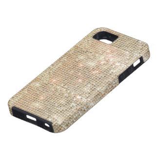 Gouden iPhone 5 van Lovertjes Taai Hoesje