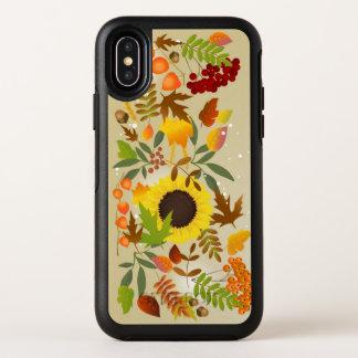 Gouden iPhone X van OtterBox van de Thanksgiving