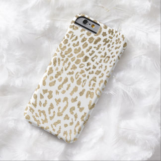 Gouden Jachtluipaard Barely There iPhone 6 Hoesje