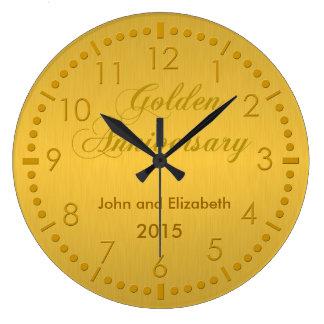 Gouden Jubileum Ronde Klok Large