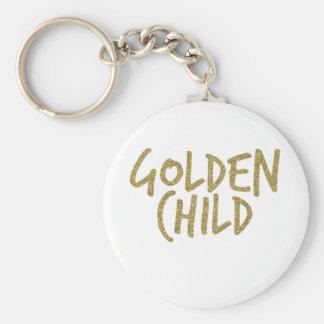 Gouden Kind Sleutelhanger