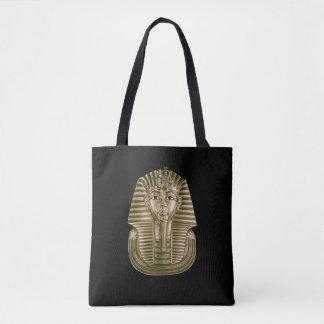 Gouden Koning Tut helemaal over - het Canvas tas