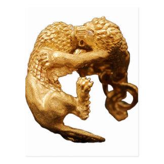 Gouden Leeuw Briefkaart