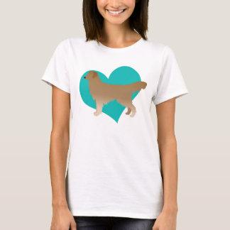Gouden Liefde T Shirt