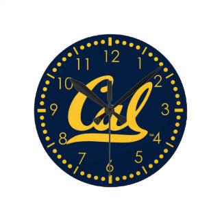 Gouden logo UC Berkley Ronde Klok