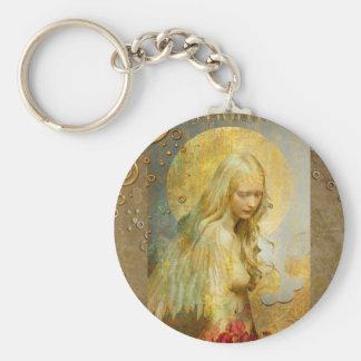 gouden mida zeer belangrijke ketting basic ronde button sleutelhanger