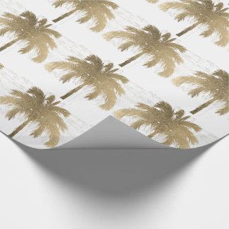 Gouden Palmen Inpakpapier