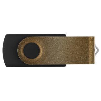 Gouden schitter de Abstracte Aandrijving van de USB Stick