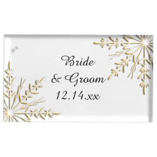 Gouden Sneeuwvlokken op het Witte Huwelijk van de