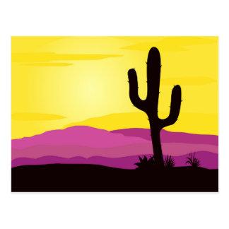 Gouden stormloop: Gouden Zonsondergang II van Briefkaart
