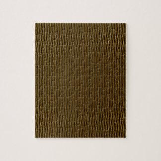 Gouden textuur puzzel