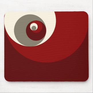Gouden Verhouding (Rode) Cirkels Muismatten
