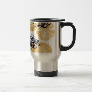 Gouden Waterlelies Reisbeker