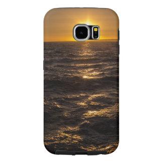 Gouden Zonsondergang Samsung Galaxy S6 Hoesje