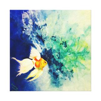 Goudvis Canvas Print