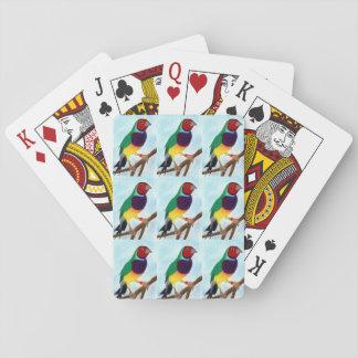 ~ Gouldian de Originele Kunst ~ van de Vink ~ Speelkaarten