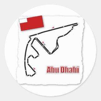 GP Kring van Abu Dhabi Ronde Sticker