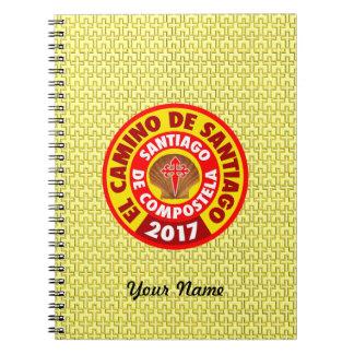Gr Camino DE Santiago 2017 Ringband Notitieboek