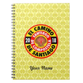 Gr Camino DE Santiago 2018 Notitieboek