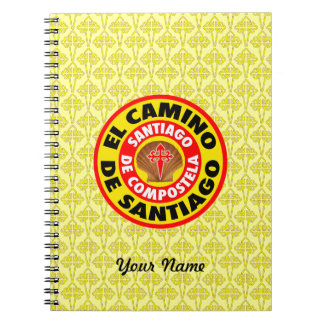 Gr Camino DE Santiago Ringband Notitieboek