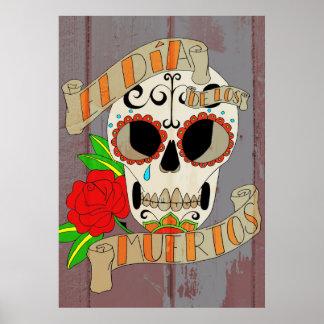 Gr Dia DE los Muertos Poster