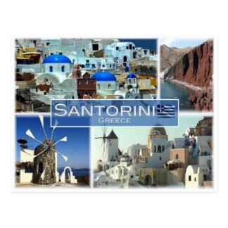 Gr. Griekenland - Santorini - Briefkaart