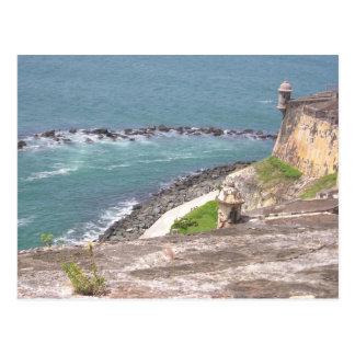 Gr Morro, Puerto Rico Briefkaart