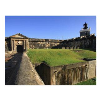 Gr Morro, San Felipe Castle, Ophaalbrug, voorzijde Briefkaart