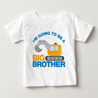 Graaf Vrachtwagen die een Grote Broer gaan zijn Baby T Shirts