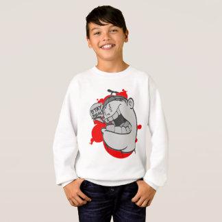 Graffiti Kinder Swearshirt: Verblijf Echt Hip Hop Trui