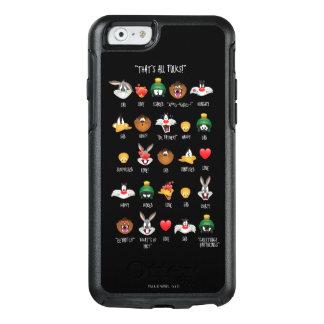 Grafiek LOONEY TUNES™ Emoji OtterBox iPhone 6/6s Hoesje