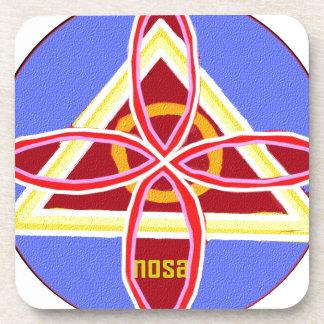 Grafische Art. van het Symbool van NOSA Karuna Onderzetter