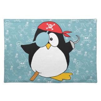 Grafische de Pinguïn van de piraat Placemat