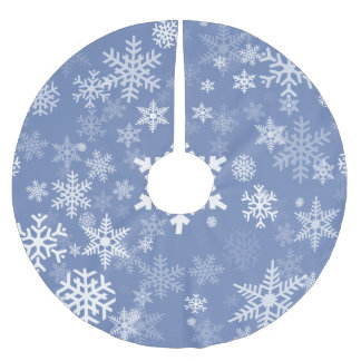 Grafische de sneeuwvlokken passen de Achtergrond Kerstboom Rok