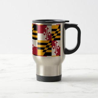 Grafische de Vlag van de Staat van Maryland Reisbeker