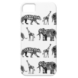 grafische dierentuin barely there iPhone 5 hoesje