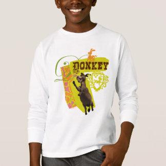Grafische ezel t shirt