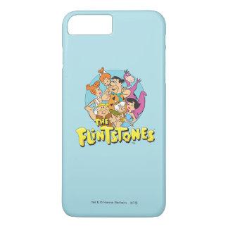 Grafische Flintstones en de Familie van het Puin iPhone 7 Plus Hoesje