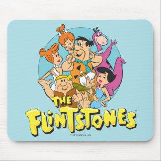 Grafische Flintstones en de Familie van het Puin Muismat
