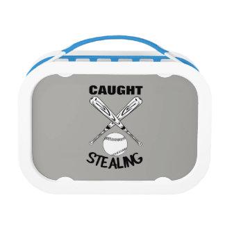 Grafische Honkbal van het Citaat van de Humor van Lunchbox