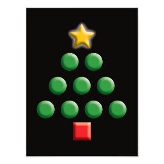 Grafische Kerstboom Foto